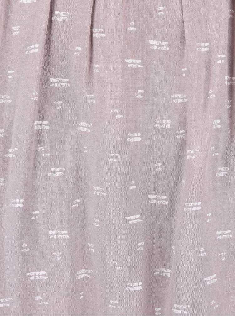 Fustă roz-maroniu Broadway Noriko