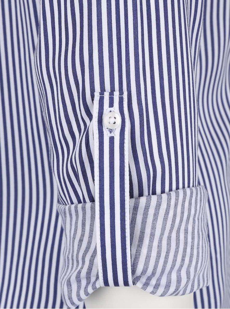 Modro-biela pruhovaná košeľa s vreckami TALLY WEiJL