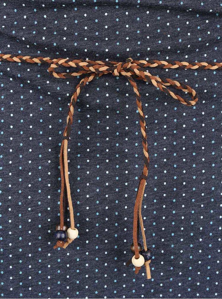Rochie albastră Ragwear Tanya Dots cu buline