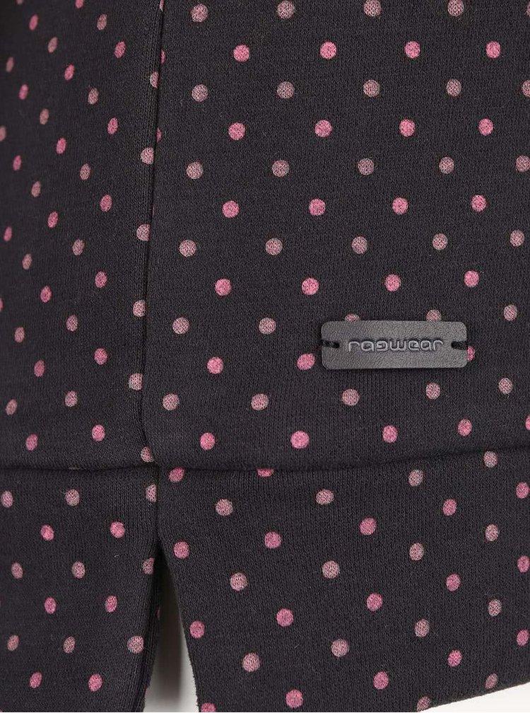 Bluză gri Ragwear Kind Dots cu buline