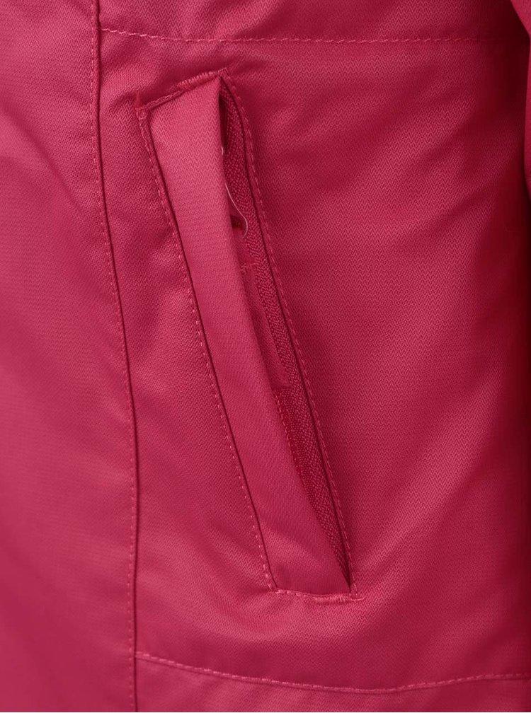 Růžový holčičí kabát s kožíškem LEGO Wear Jenay