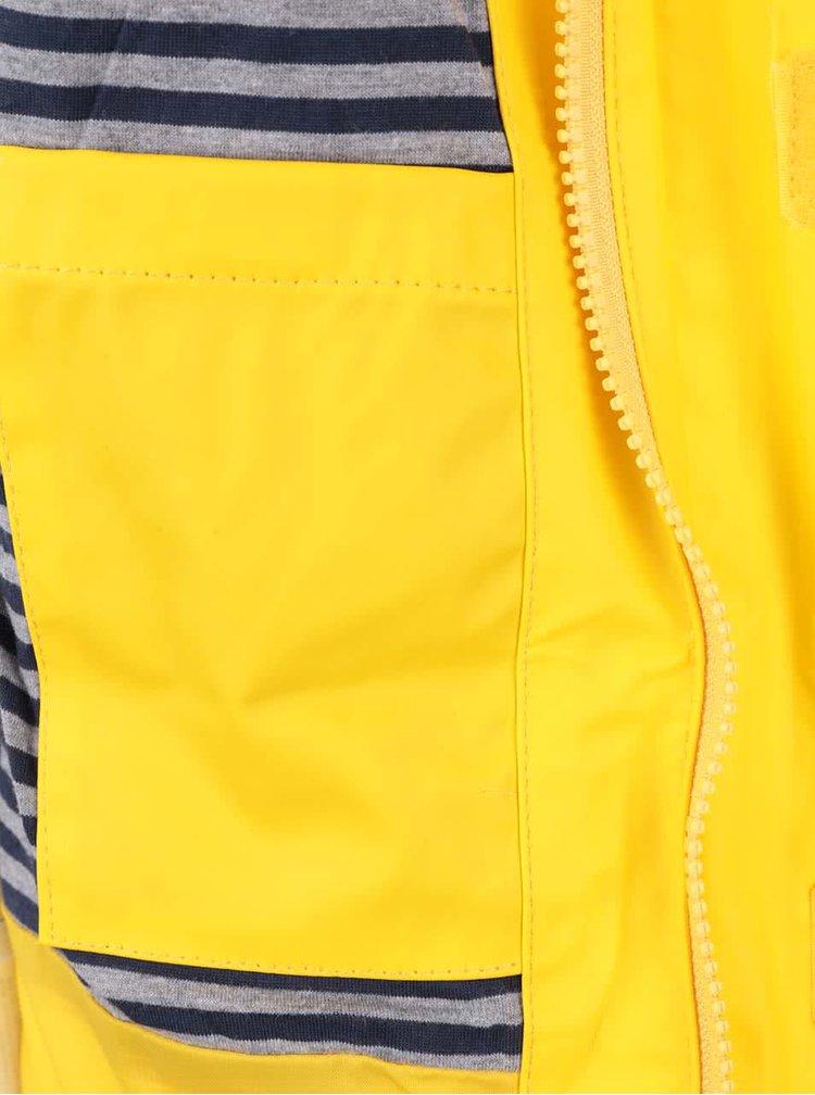 Žlutá klučičí nepromokavá bunda LEGO Wear Jadon