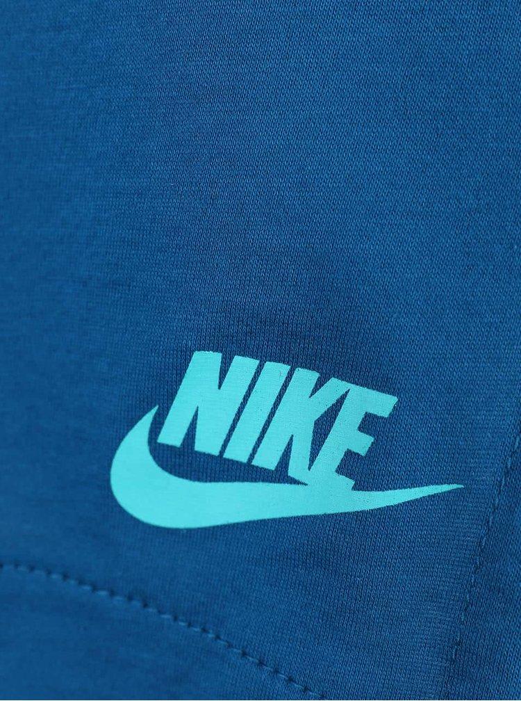 Top albastru Nike Tank Bnd pentru femei