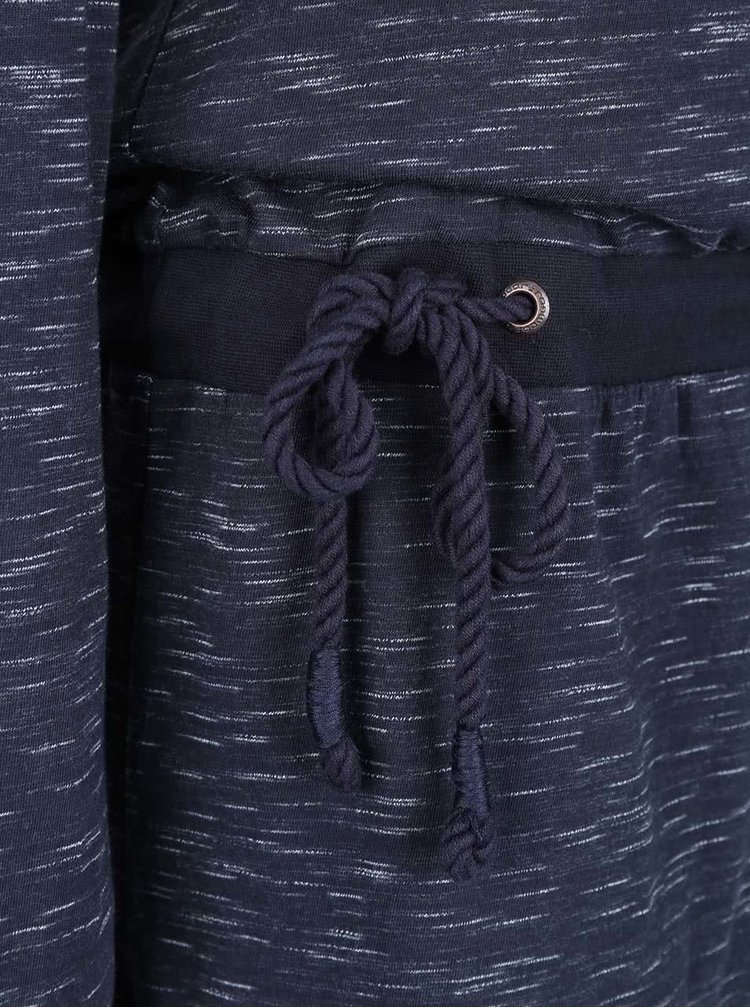 Rochie albastra Ragwear Alexa cu siret in talie