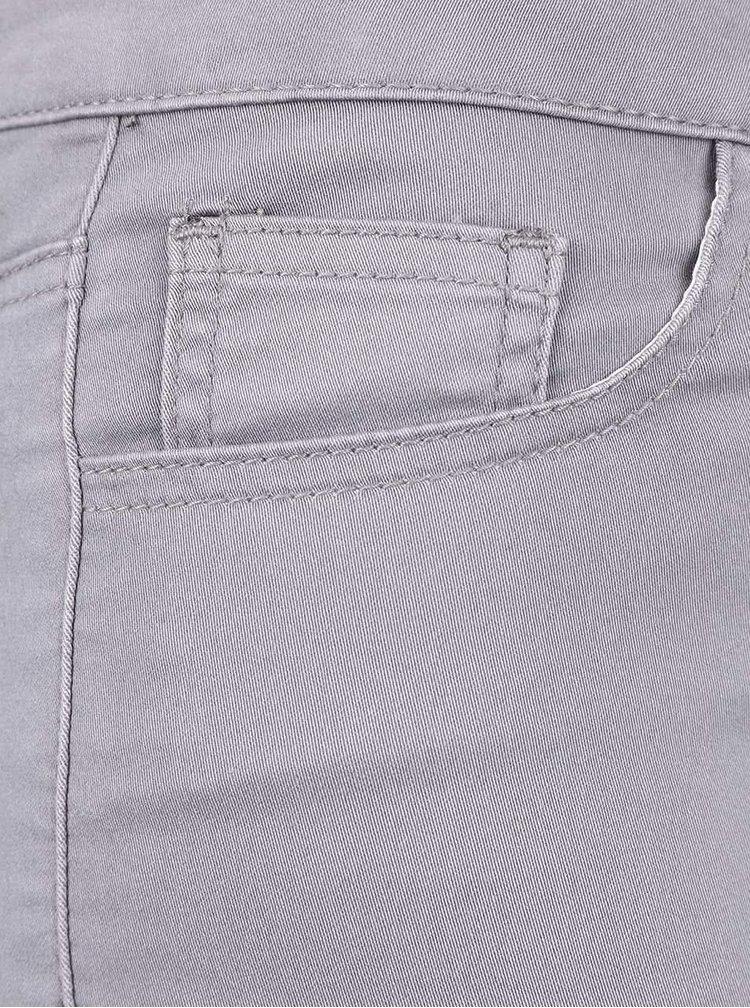 Světle šedé dámské kalhoty Broadway Jane