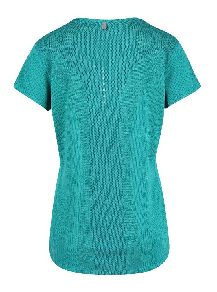 Tricou verde Nike Dry Contour
