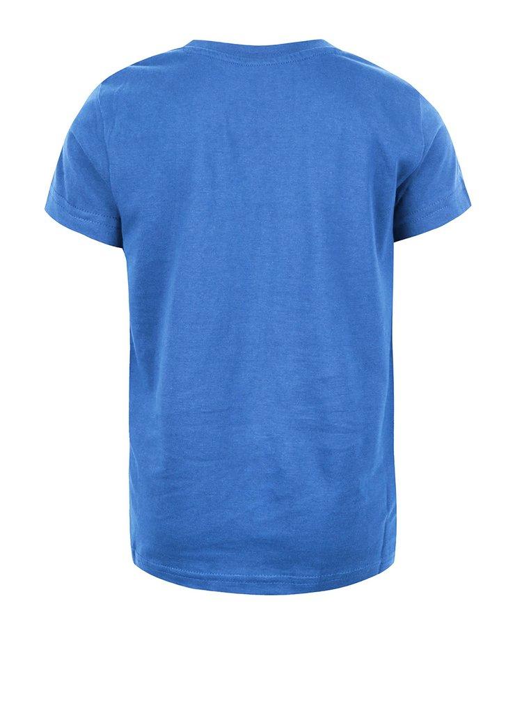 Modré chlapčenské tričko s potlačou LEGO Wear M-Line