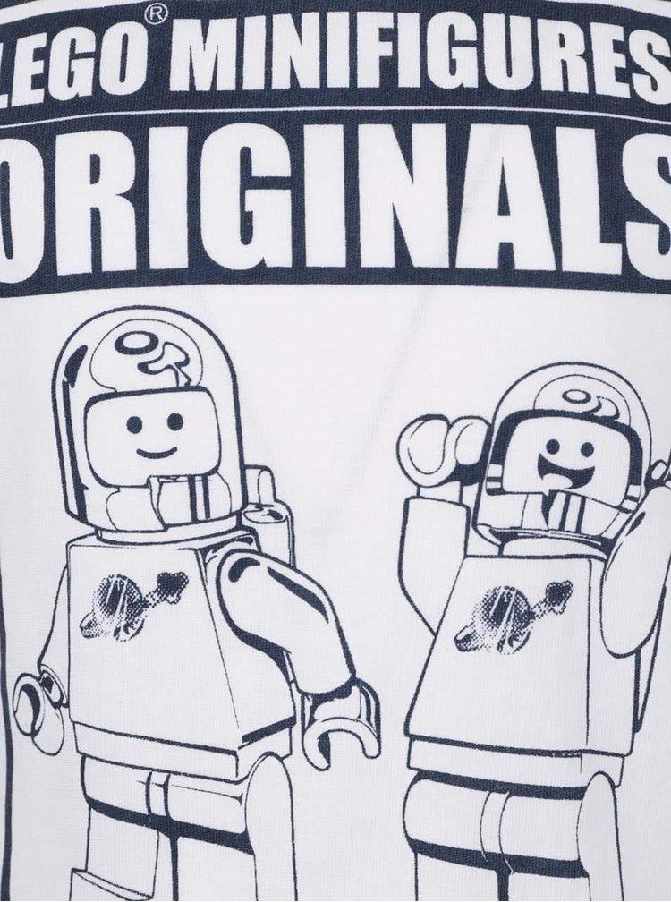 Krémové klučičí triko s potiskem LEGO Wear Tony