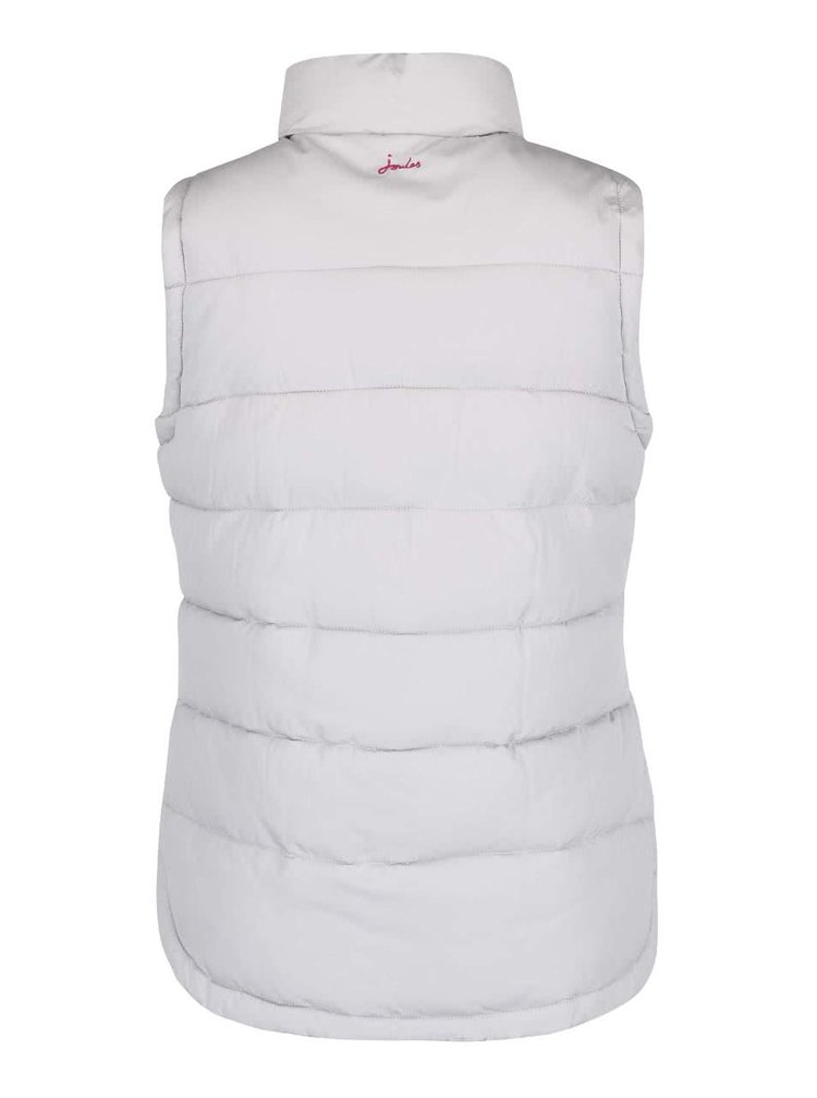 Svetlosivá dámska prešívaná vesta Tom Joule Eastleigh