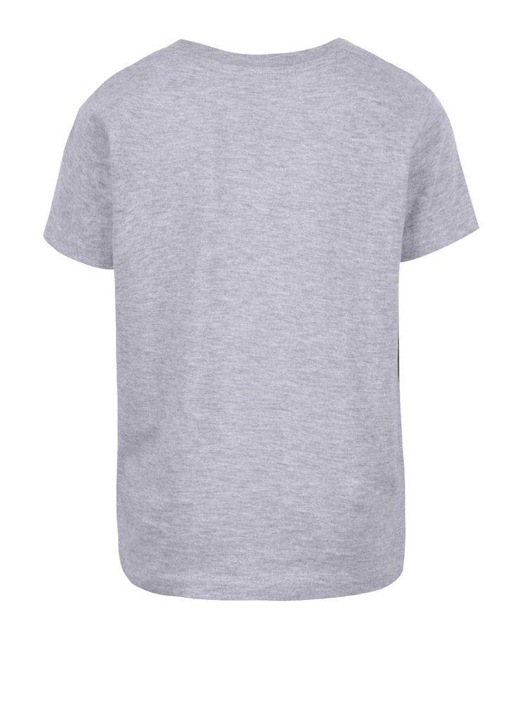 Sivé chlapčenské tričko s potlačou LEGO Wear M-Line