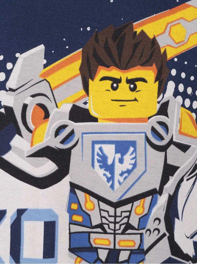 Bluză bleumarin cu imprimeu LEGO Wear Skeet