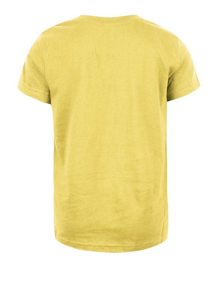 Tricou galben din bumbac LEGO Wear M-line