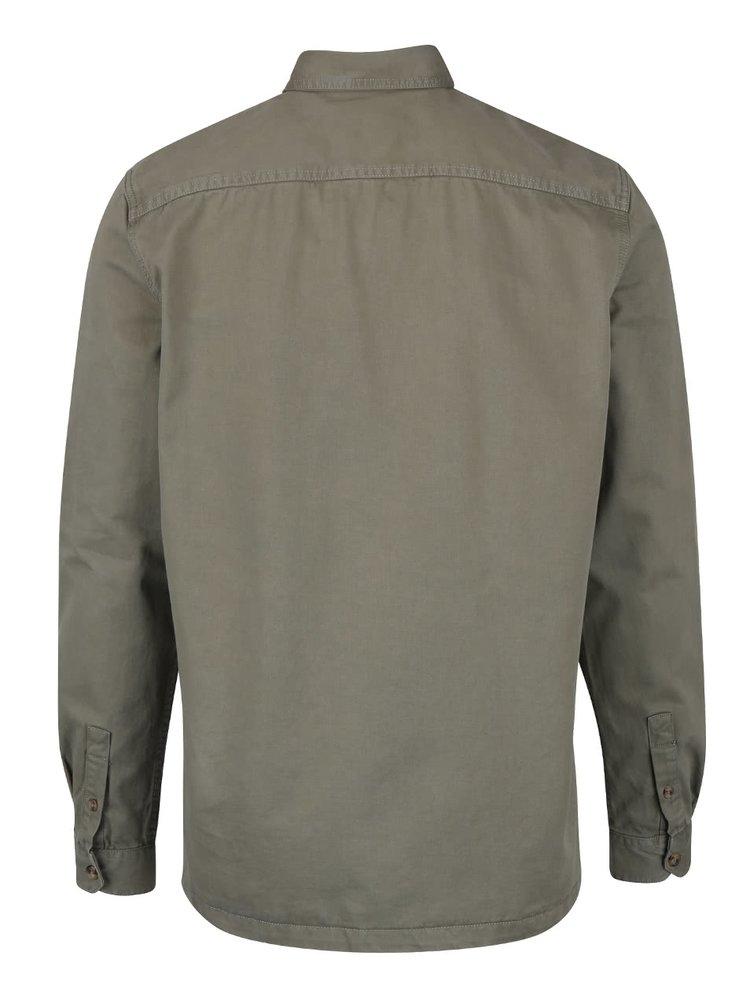 Kaki ľahká bunda Burton Menswear London