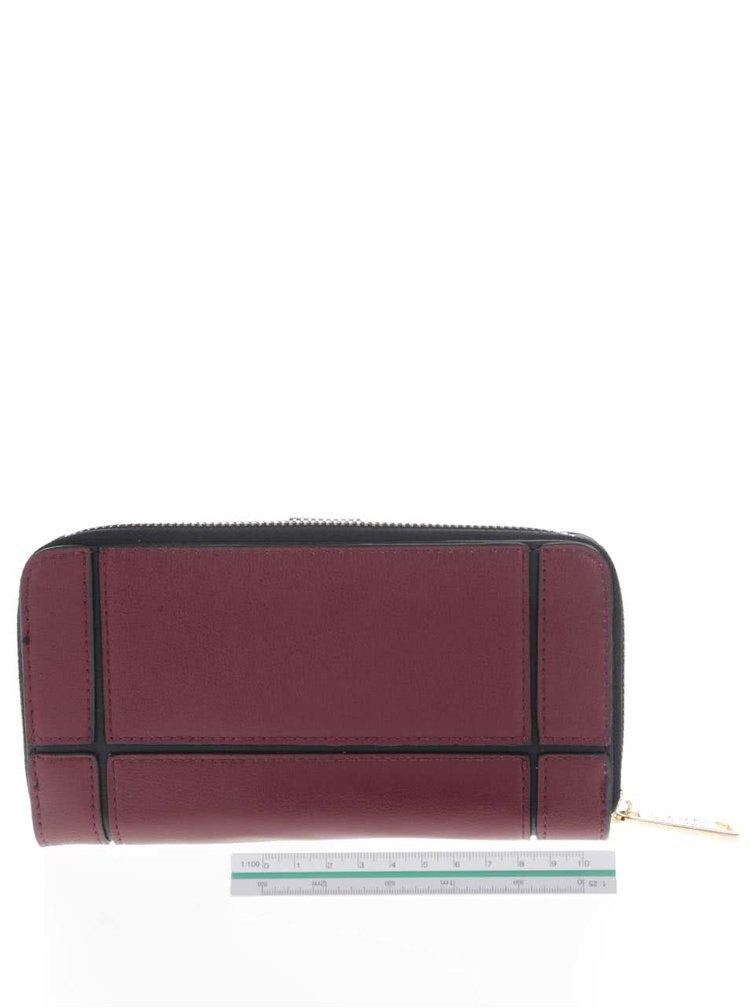 Černo-vínová peněženka LYDC