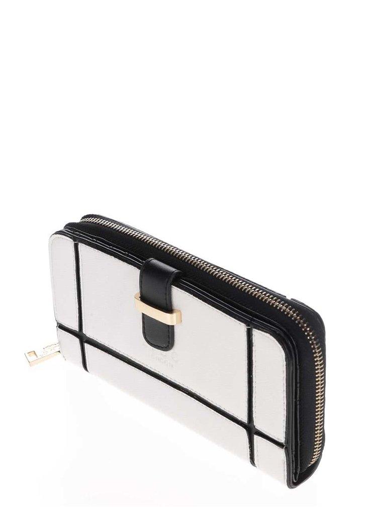 Černo-bílá peněženka LYDC