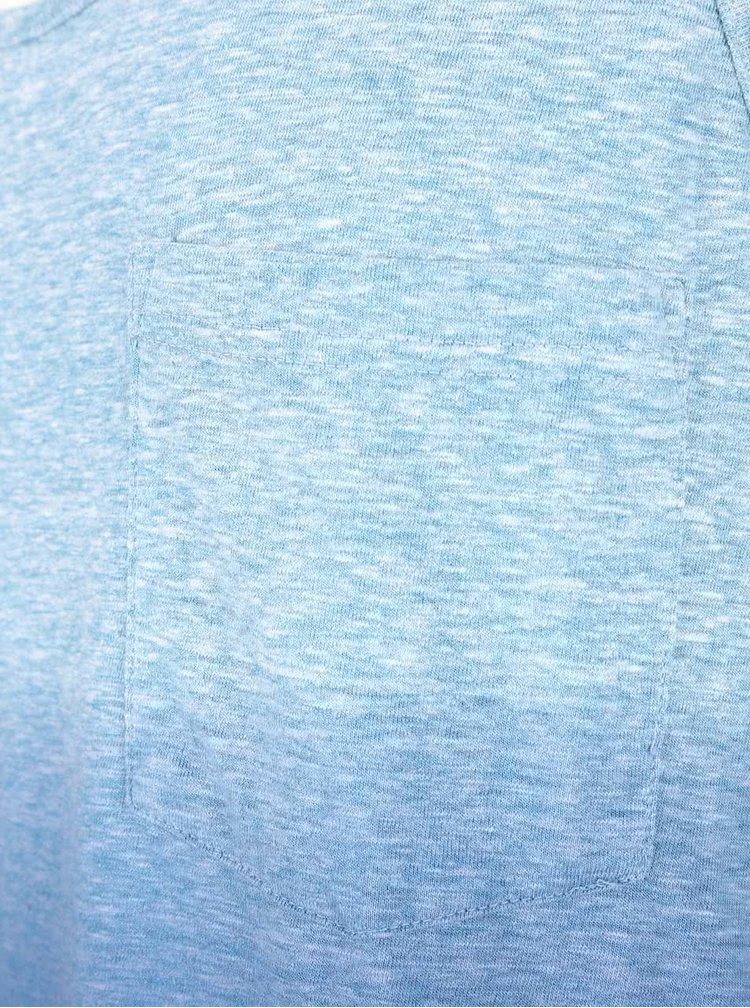 Maiou albastru cu efect ombre Burton Menswear London