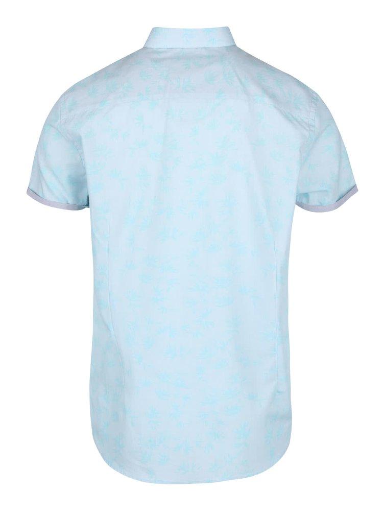 Cămașă albastră deschis Burton Menswear din bumbac