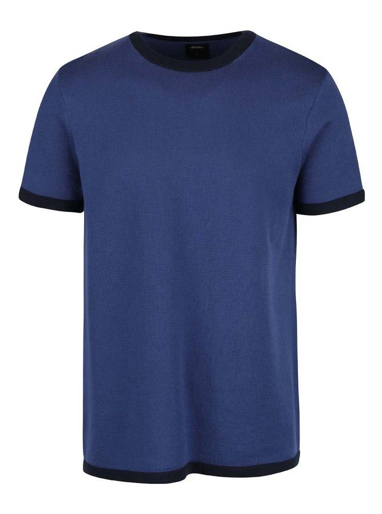 Tmavě modré svetrové triko Burton Menswear London