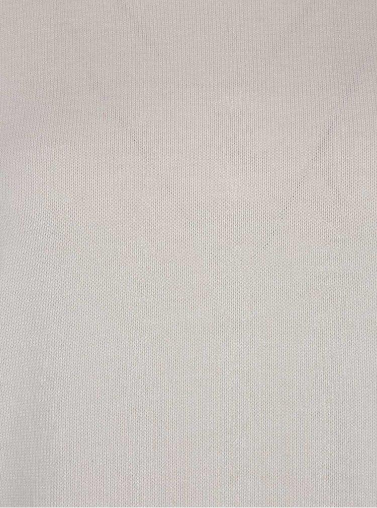 Krémový svetr s krajkou a rozparkem na zádech Dorothy Perkins