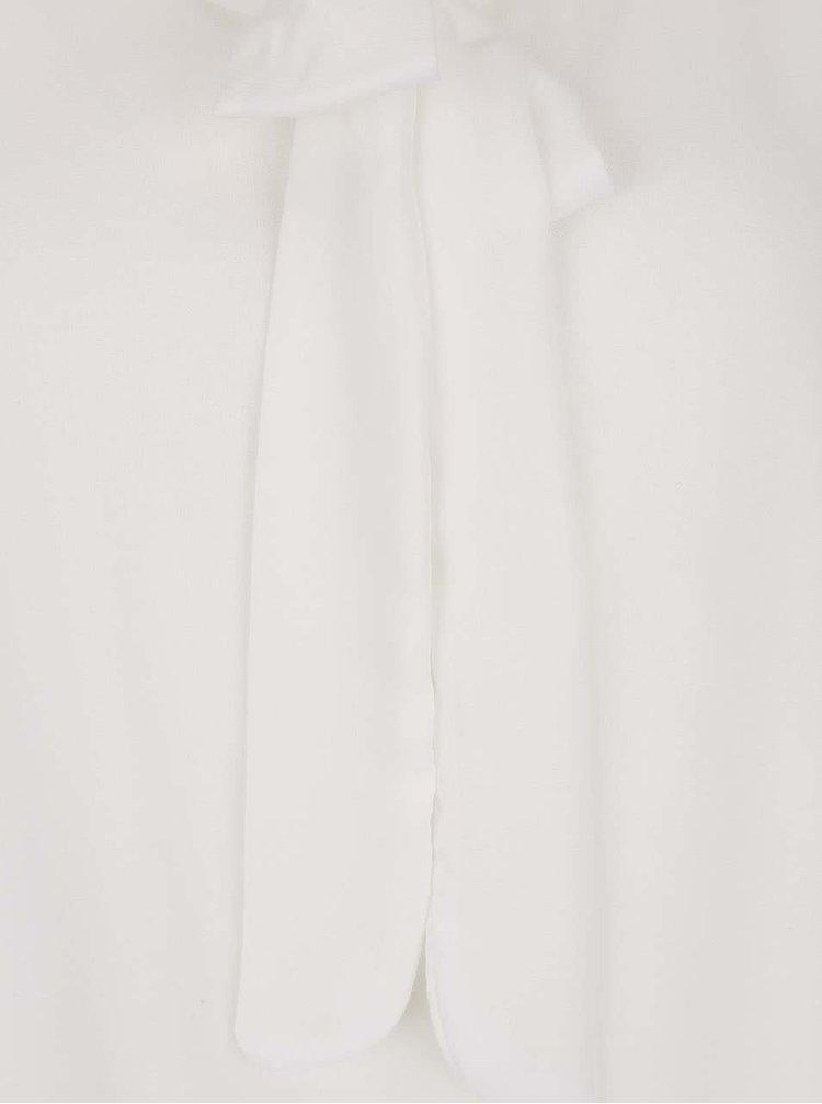 Krémové halenka s vázankou Haily´s Kia