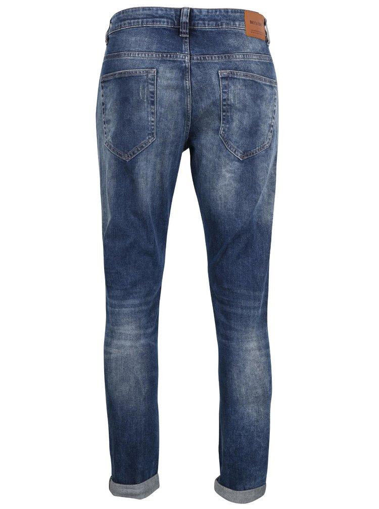 Světle modré džíny s potrhaným efektem ONLY & SONS Loom