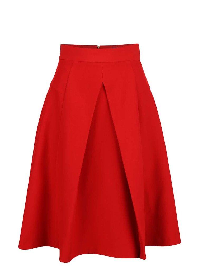 Fustă cloș Closet roșie