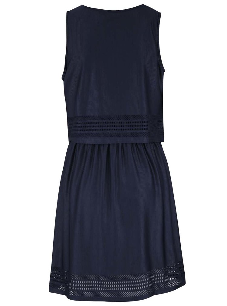 Tmavomodré šaty Miss Selfridge