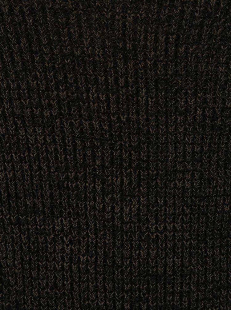 Šedo-zelený  svetr Blend