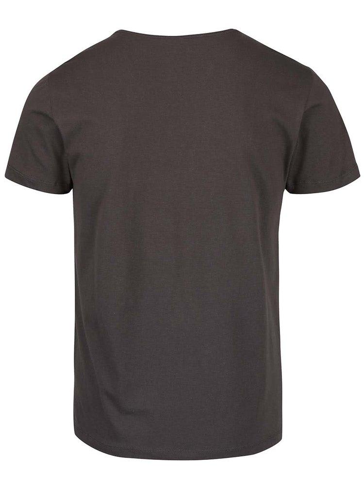 Tricou bleumarin cu imprimeu Blend