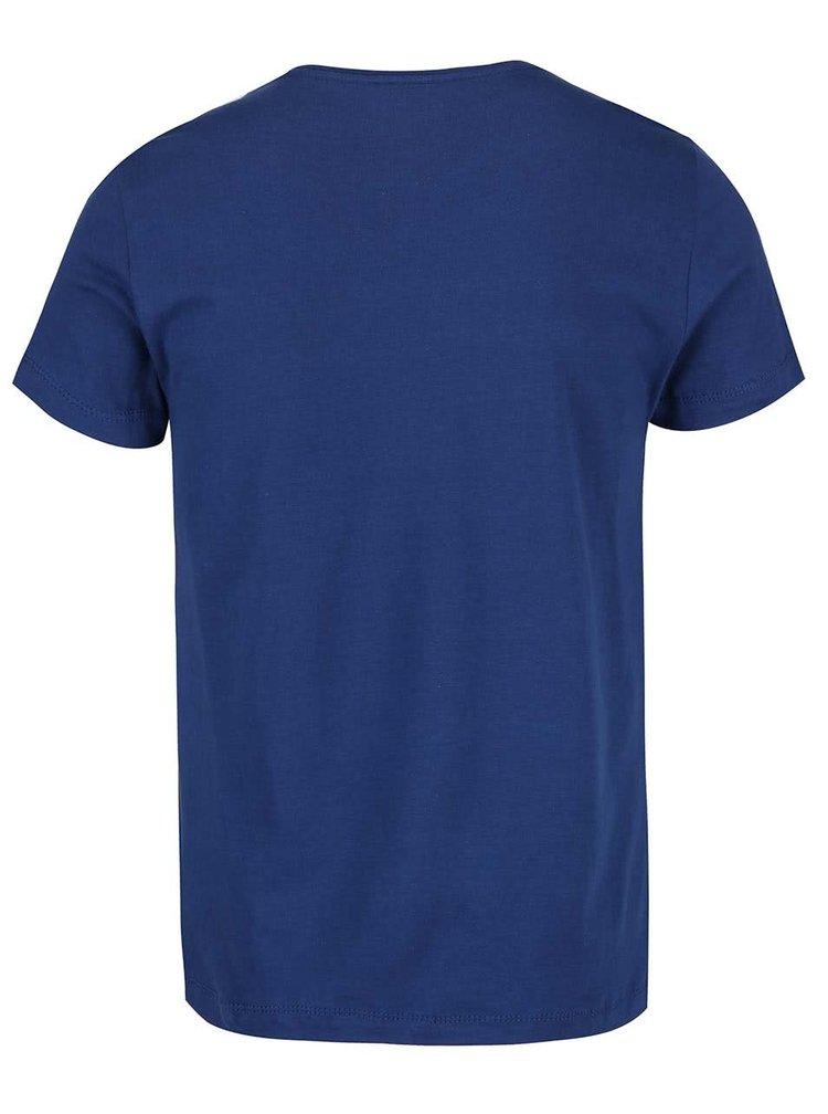 Tricou albastru Blend cu imprimeu