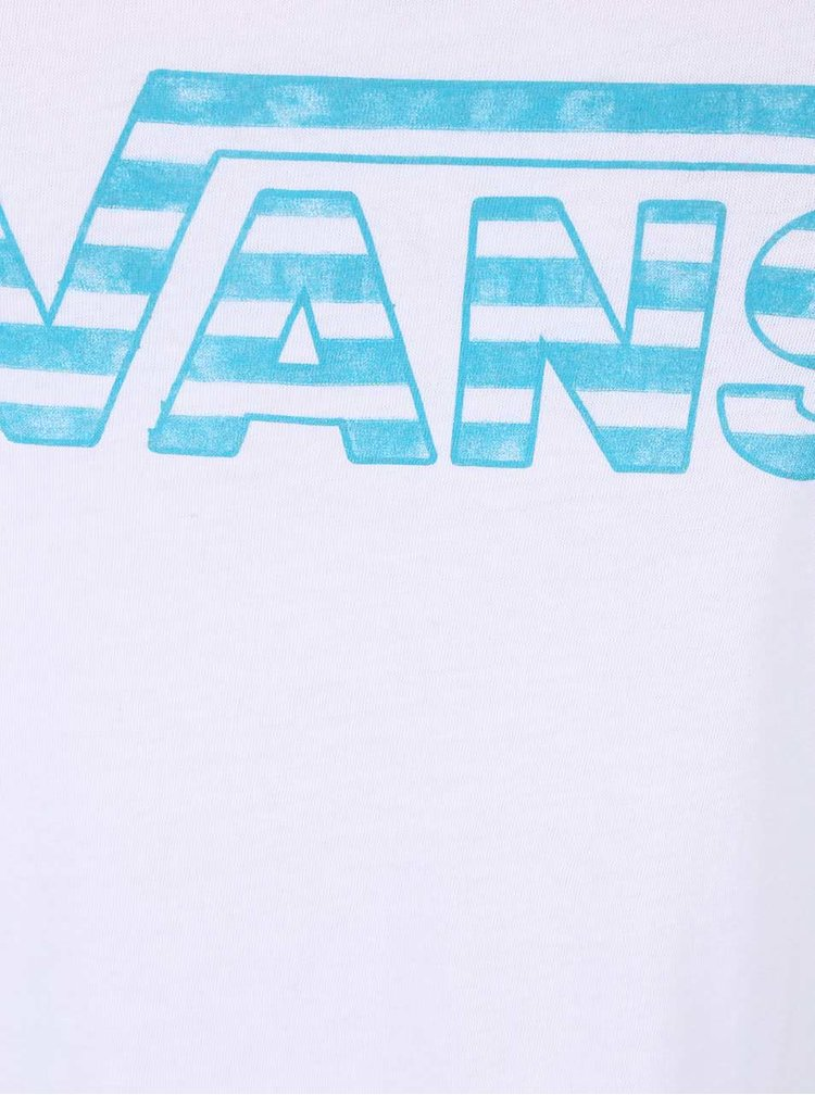 Bílé dámské tílko Vans Tie Stripe