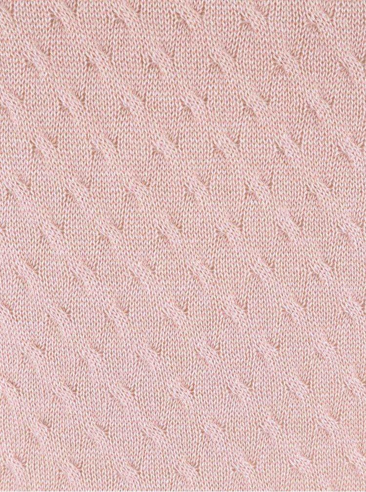 Pulover roz pal VILA Tobi