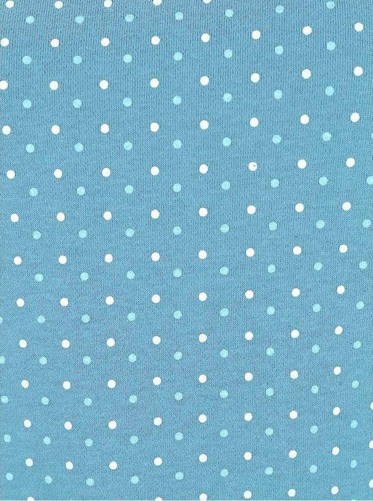 Modrá dámska mikina s bodkami Ragwear Kind Dots