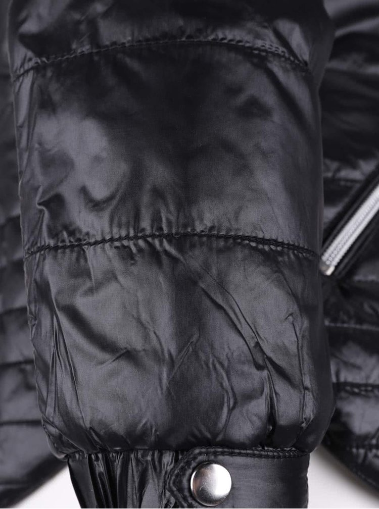 Černá prošívaná bunda VERO MODA Susannah