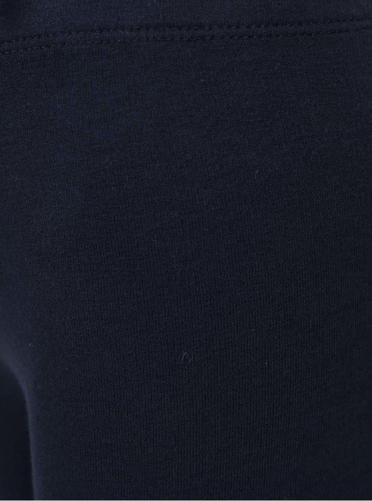 Tmavě modré teplejší holčičí legíny name it Davina