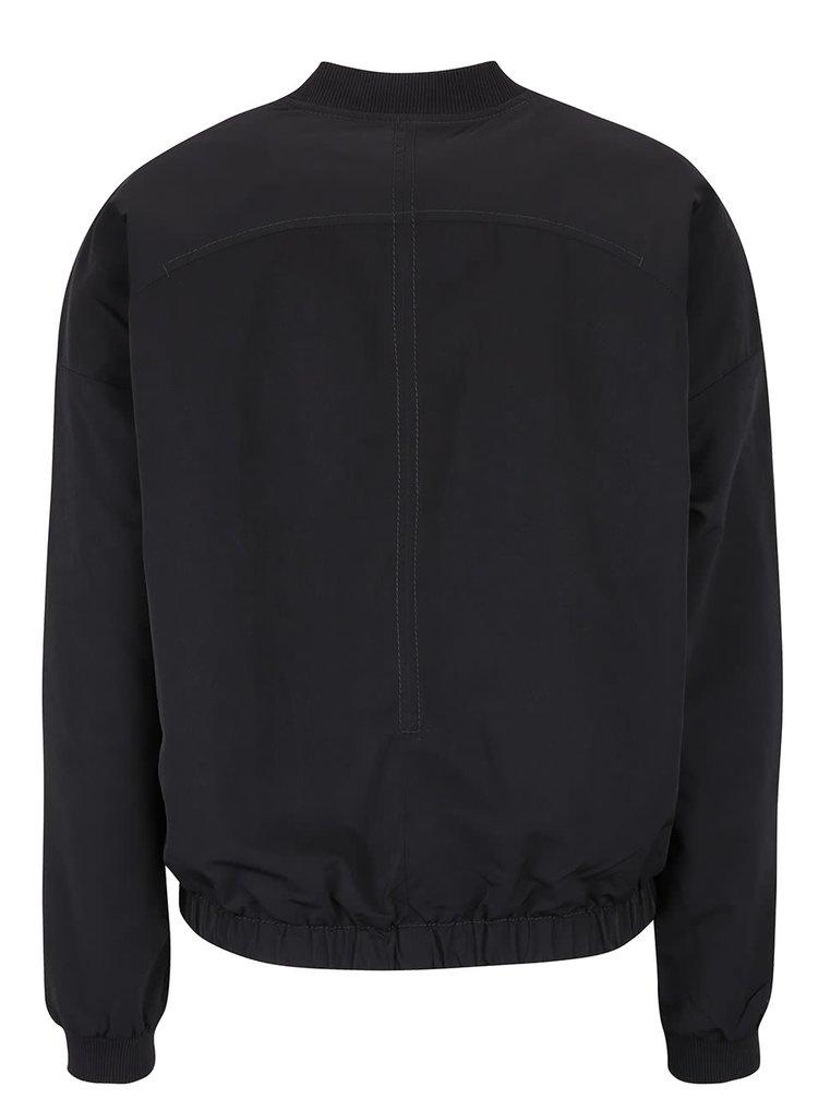 Jacheta neagra bomber Bench pentru femei