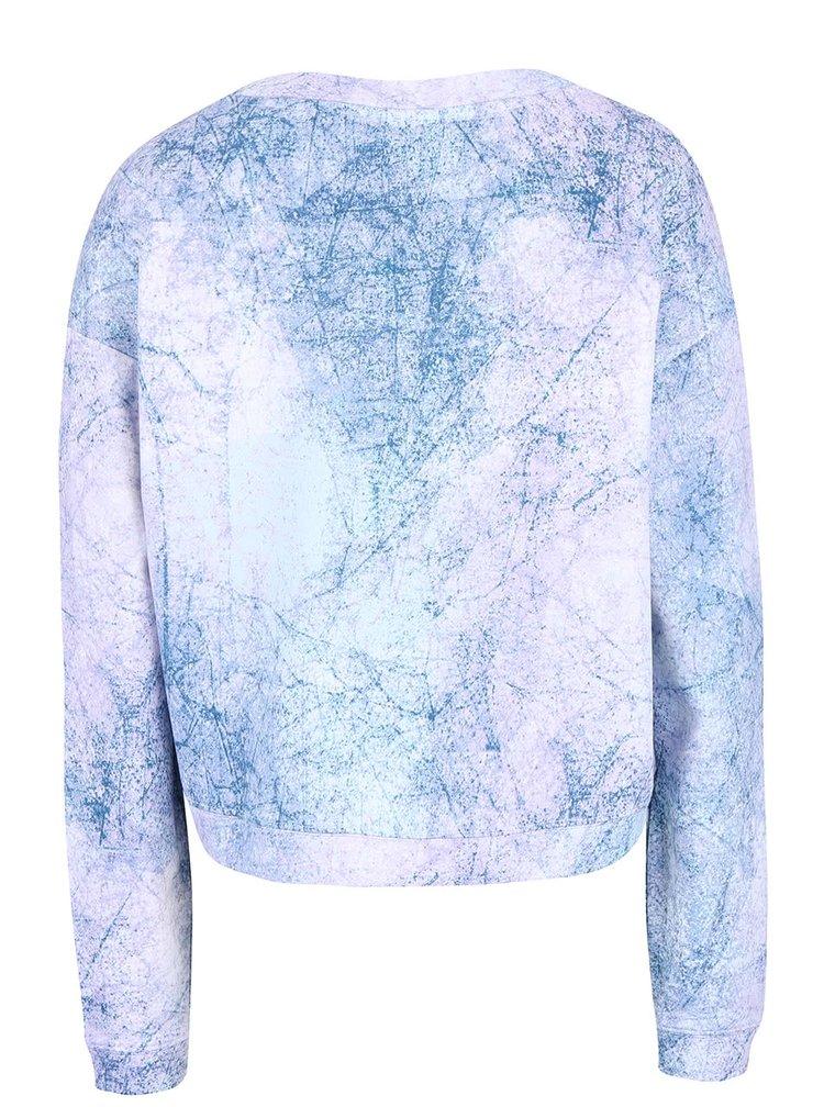 Bluză albastră Bench cu model
