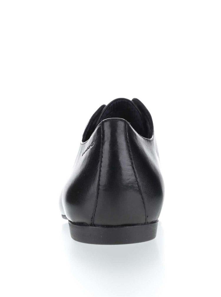 Černé dámské kožené polobotky Vagabond Katlin