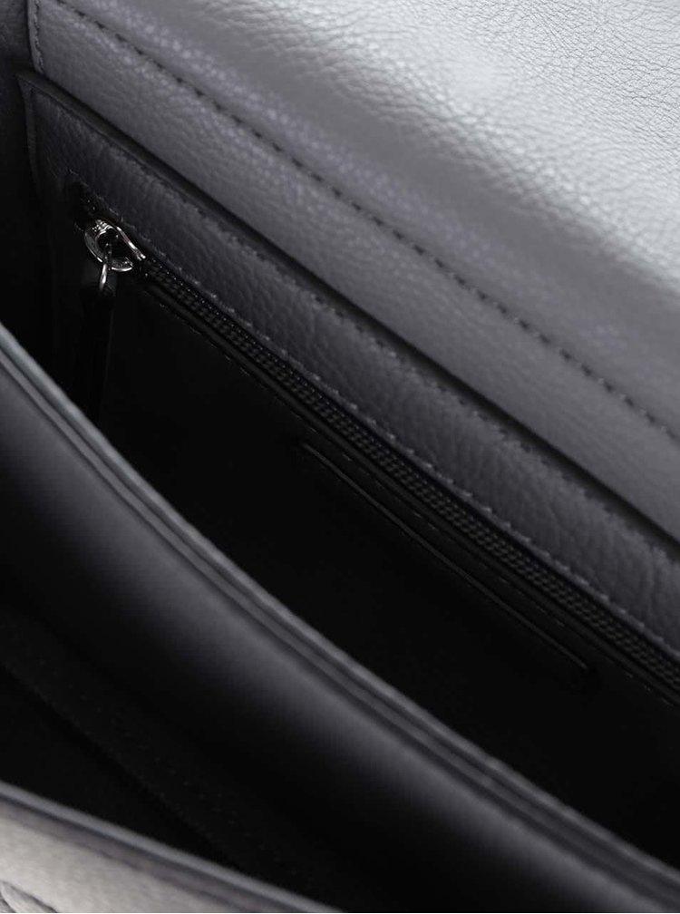 Čierna menšia crossbody kabelka Tommy Hilfiger