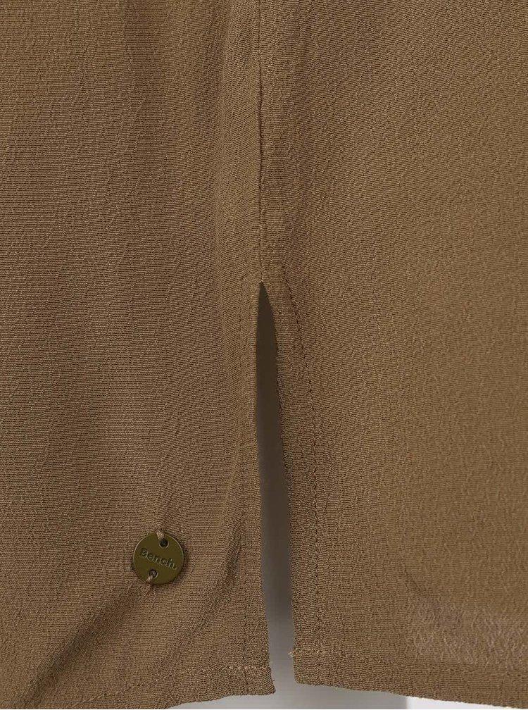 Khaki propínací šaty Bench