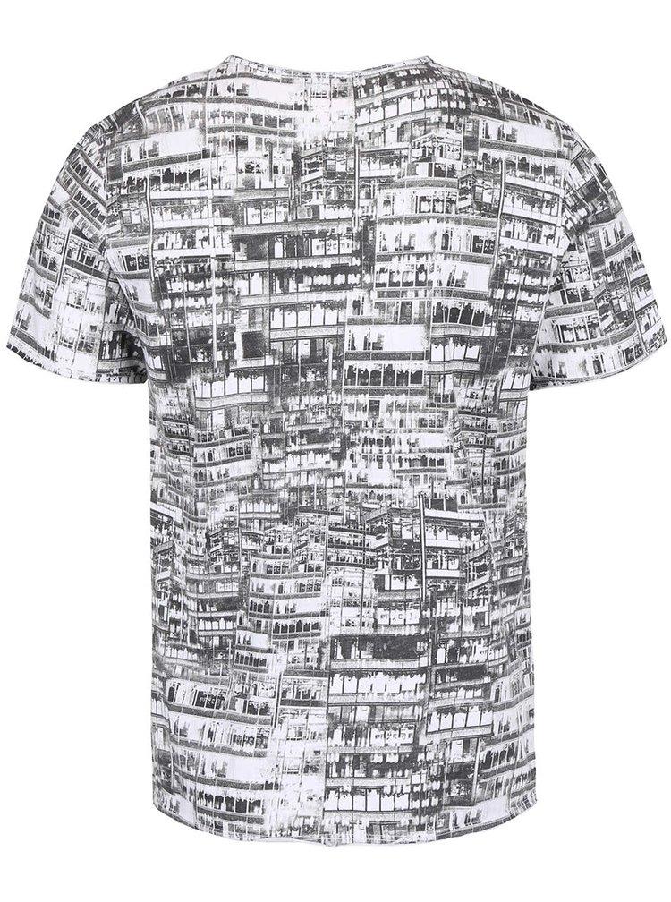 Tricou alb ZOOT cu foto print