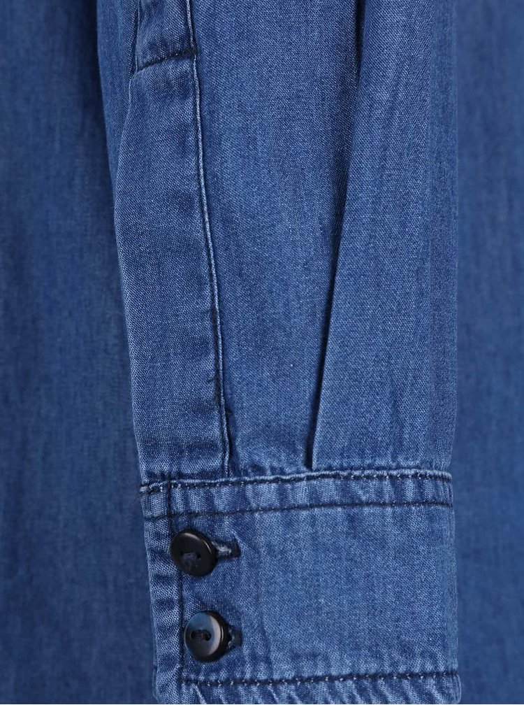 Tmavě modré džínové šaty Bench