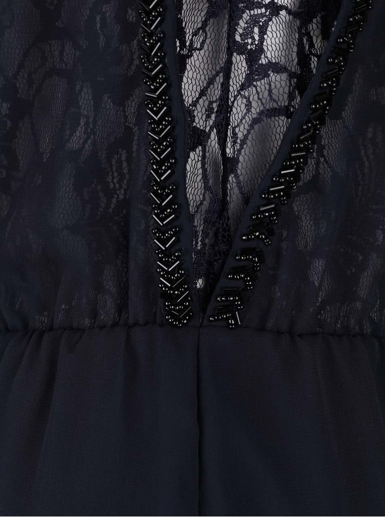 Rochie albastru închis ONLY New Hiro din dantelă