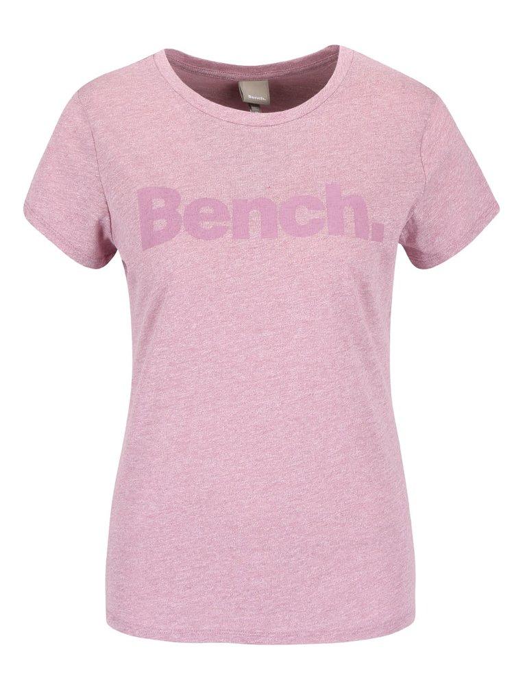 Tricou roz Bench cu imprimeu pentru femei