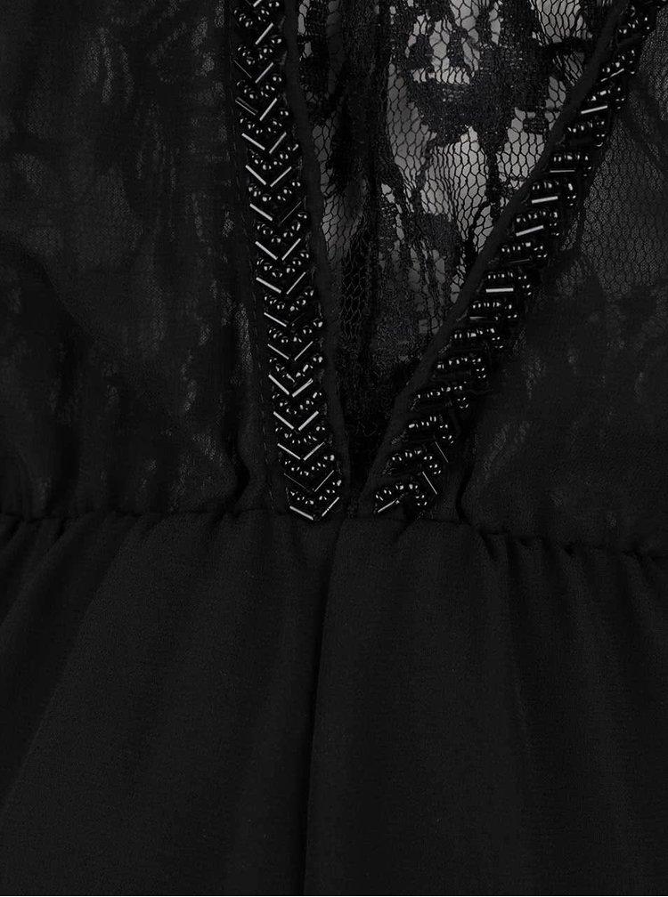 Černé krajkované šaty ONLY New Hiro