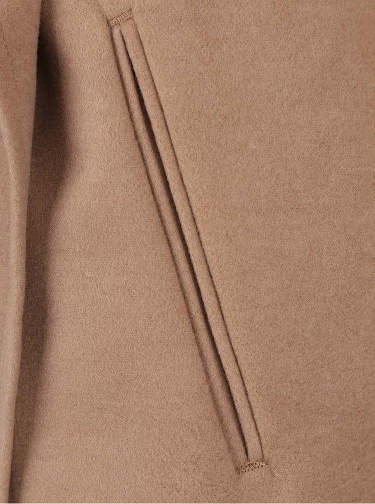 Světle hnědý kabát ONLY New Phoebe