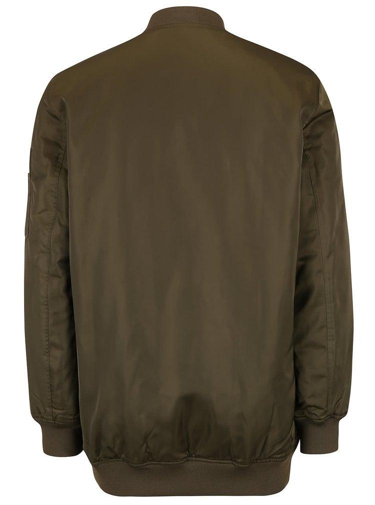 Jachetă bomber kaki lungă TALLY WEiJL