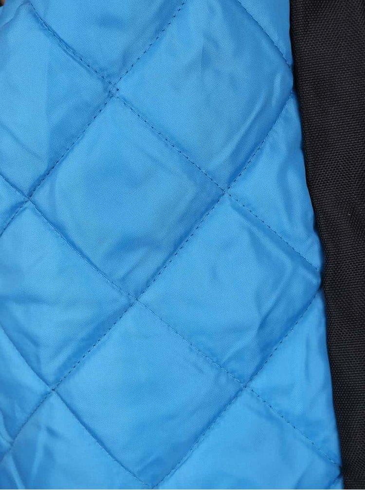 Čierna chlapčenská bunda na zips 5.10.15.