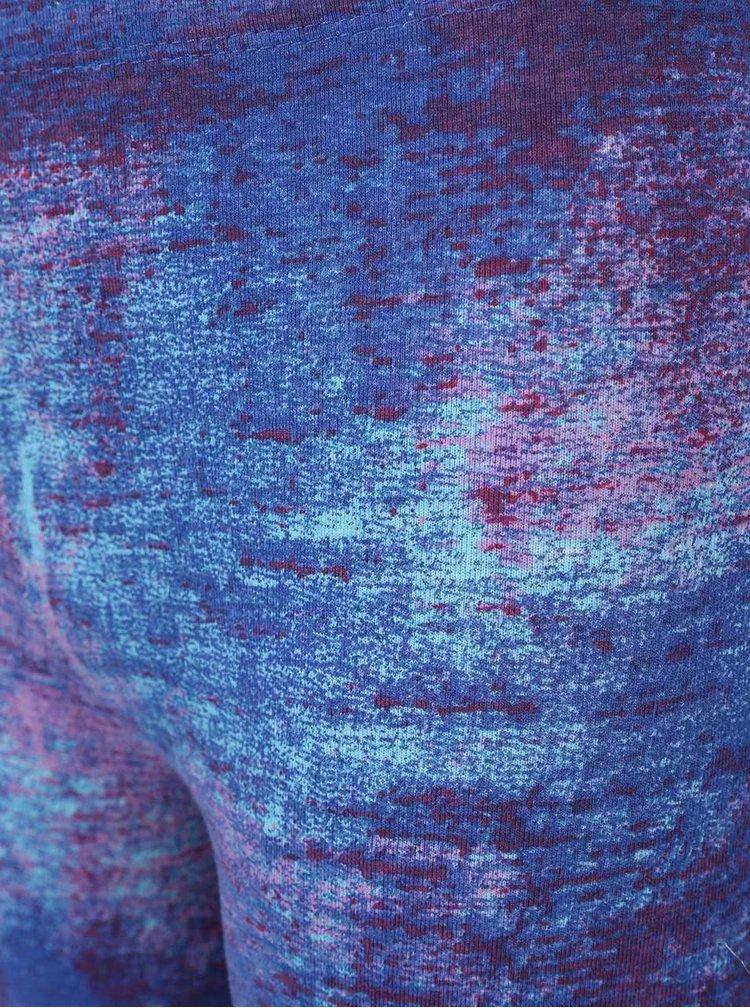 Fialovo-modré žíhané holčičí legíny 5.10.15.