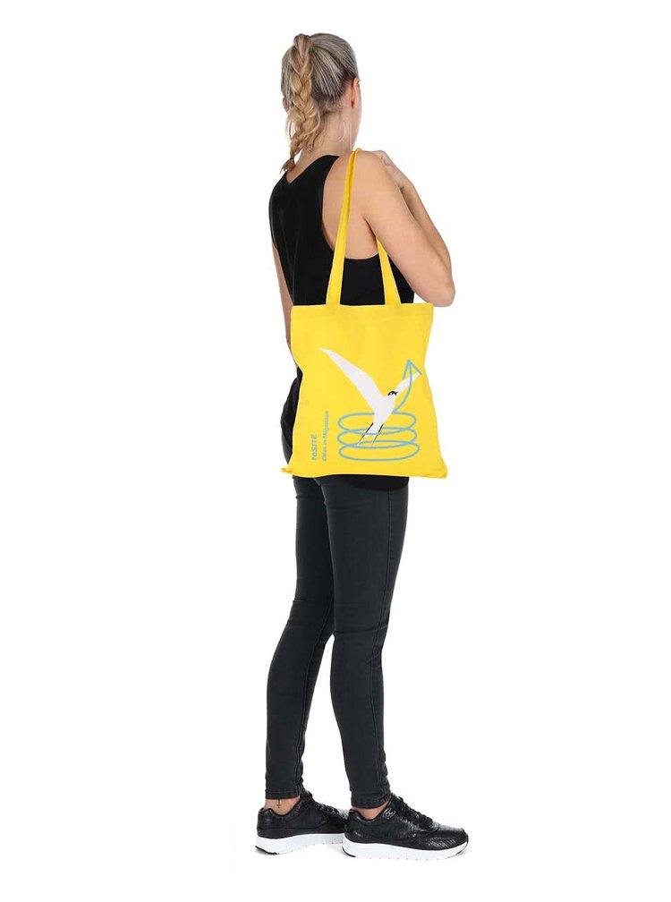 """""""Dobrá"""" žlutá plátěná taška pro reSITE"""